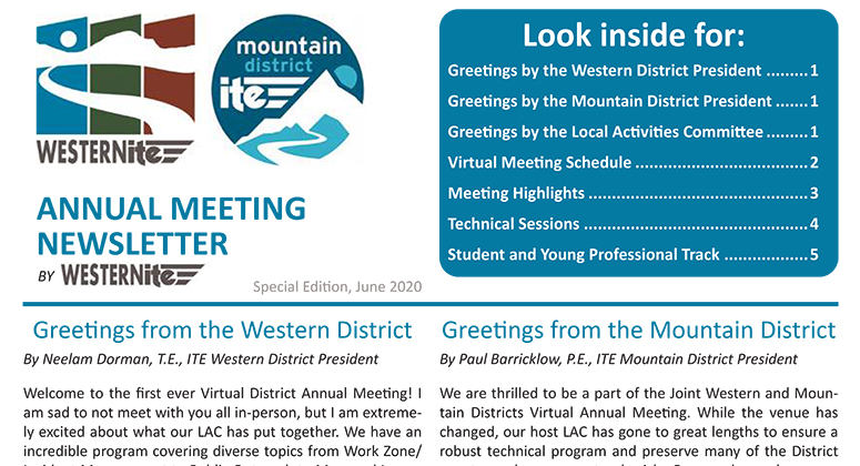 Annual Meeting Newsletter