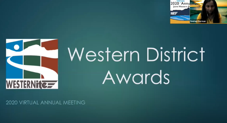 2020 Western District Awards Session